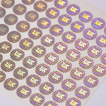 Make your own laser hologram sticker with high quality