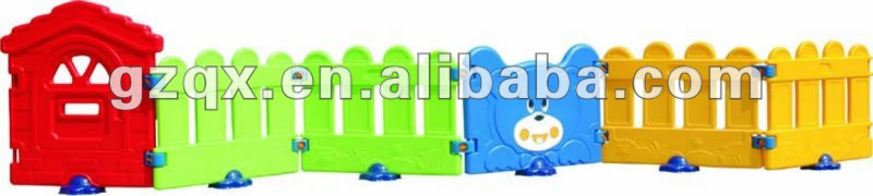 Cartoon children play fence play area fence QX-B3902