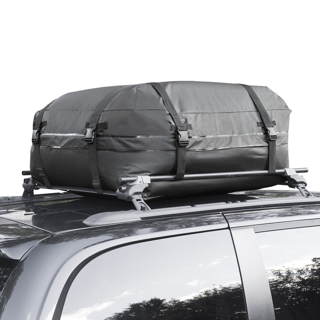 15ft 100/% Waterproof Car Top Carrier Cargo Roof Bag Storage Luggage Car Travel