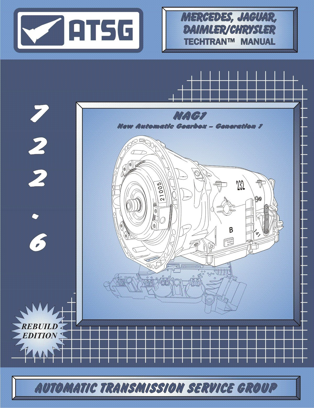 ATSG Mercedes 722.6 / NAG 1 Automatic Transmission Repair Manual (Mercedes  722.6 Transmission Fluid Dipstick