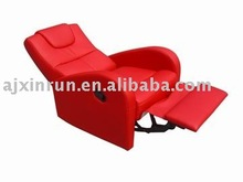 Multifunction Sofa chair,red pu recliner