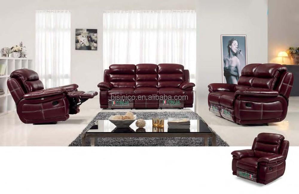 Bisini Recliner Leather Sofa Furniture Set, Modern Genuine Leather Recliner  Sofa, View recliner sofa, BISINI Product Details from Zhaoqing Bisini ...