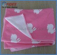 ultra fine good helper microfiber cloth with printing for home