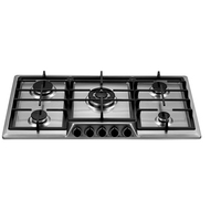 gas cooktop with 5 burners Built-in Stoves Natural Gas Hob Cooker