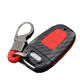 2019 Protection ABS Carbon + Silicone Car Key Cover For Audi A4 A5 A6 A7 A8 Q5 Smart Remote Car Key Case