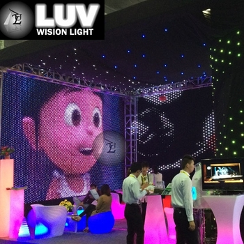 Led Curtain / Decorative Items For Events /event Stage Decorations ...