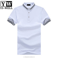 High quality classic mens collar t shirts stylish us polo t-shirts