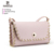 7446 Lady Fashion Branded Luxury Handbag with Decoration Chain Leather Messenger Bag Cross Body Sling Bag 2018