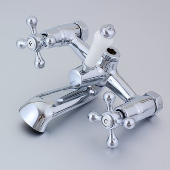 Wall Mounted Antique European Style Shower Mixer Shower Set Bathtub Faucet