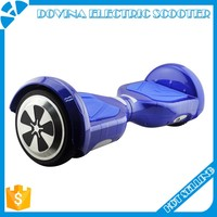 Chrome Hoverboard 4.4AH Self Balancing Scooter 6.5 Inch Smart Electric Scooter Two Wheels Hover Board In Stock