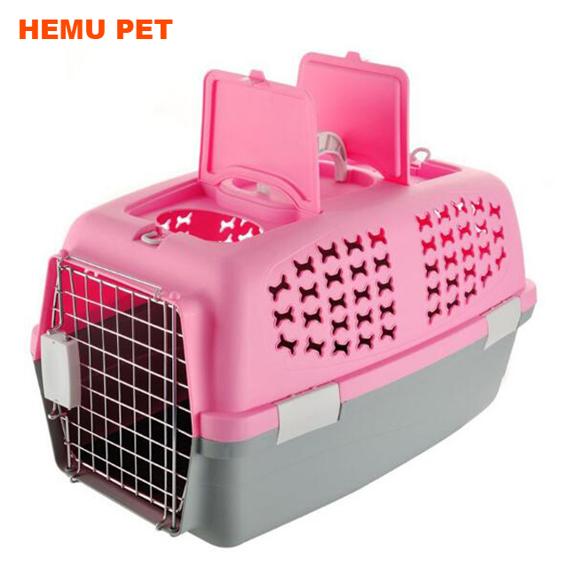 2017 hemu innovative traveler handbag basket <strong>rabbit</strong> cage breathable pet carrier airline approved