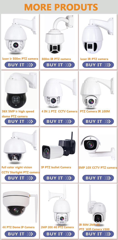 HD 5MP IR 300m Lazer Yüksek Hızlı Dome Kameralar 30X Zoom PTZ Kamera IP IR Açık Su Geçirmez Ağ POE CCTV Güvenlik Kamera P2P