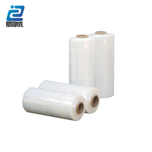 Clear 17~30 micron PE Stretch Film strech foil for pallet wrapping