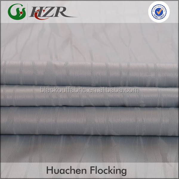 2015 High Quality Chinese Manufacturers Chinese style curtain with 3 Pass Acrylic Foam Coating