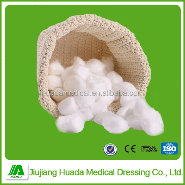 Medical Materials Wound Dressing Cotton Ball