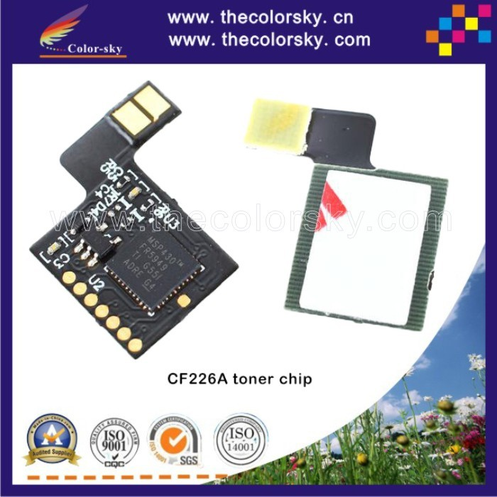 (TY-DH226A) toner laser printer reset chip for HP Laserjet Pro MFP 426dw 426fdw 426fdn 426 MFP426 M402 402 Bk 3.1k pages