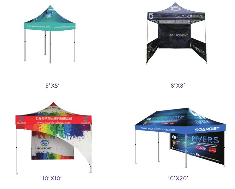 custom logo10x10 canopy topcheap aluminium frame tent - 10x10 Canopy Tent