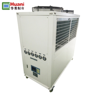 New Camping aquarium water chiller system 40hp cooling food processing industries