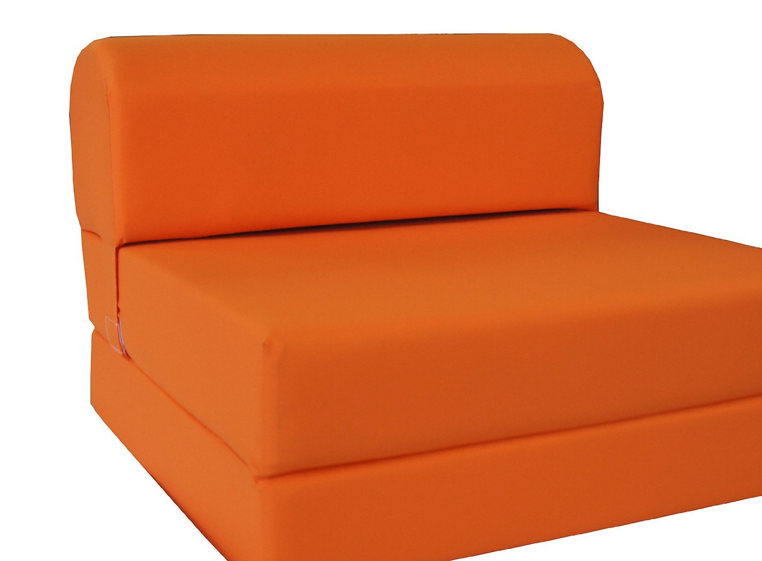Pleasant Buy Orange Sleeper Chair Folding Foam Bed Sized 6 Thick X Short Links Chair Design For Home Short Linksinfo