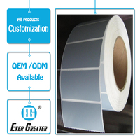 white void label paper,custom vinyl sticker waterproof self adhesive label stickers label roll