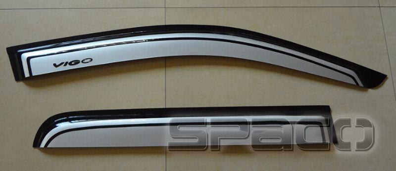 4X4 Car Accessories Window Visors Wind Deflector Car Door Visors Toyota Hilux Vigo/Revo & 4x4 Car Accessories Window Visors Wind Deflector Car Door Visors ...