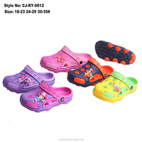 New arrival comfortable EVA kids clog shoes for girls