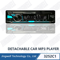 pioneer Car Audio Mp3 PlayerWith USB SD Car Dvd Player With Bluetooth With Colorful LCD Car Mp3 with FM Car Mp3 With Aux In