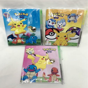 pokemon notebook diary notepad with pen
