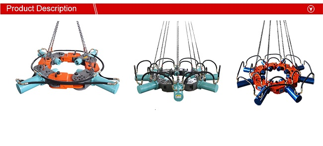 Excavator Used Hydraulic Round Concrete Pile Head Cutter for Breaking 600-1800mm Diameter