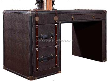 Mobili Ufficio Scrivania : Bisini mobili di design nuovo ufficio in pelle scrivania studio