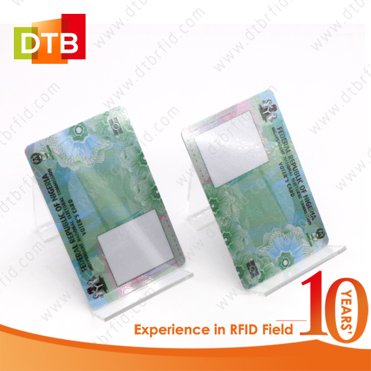 DTB 13.56MHz HF RFID Card With Serial Number