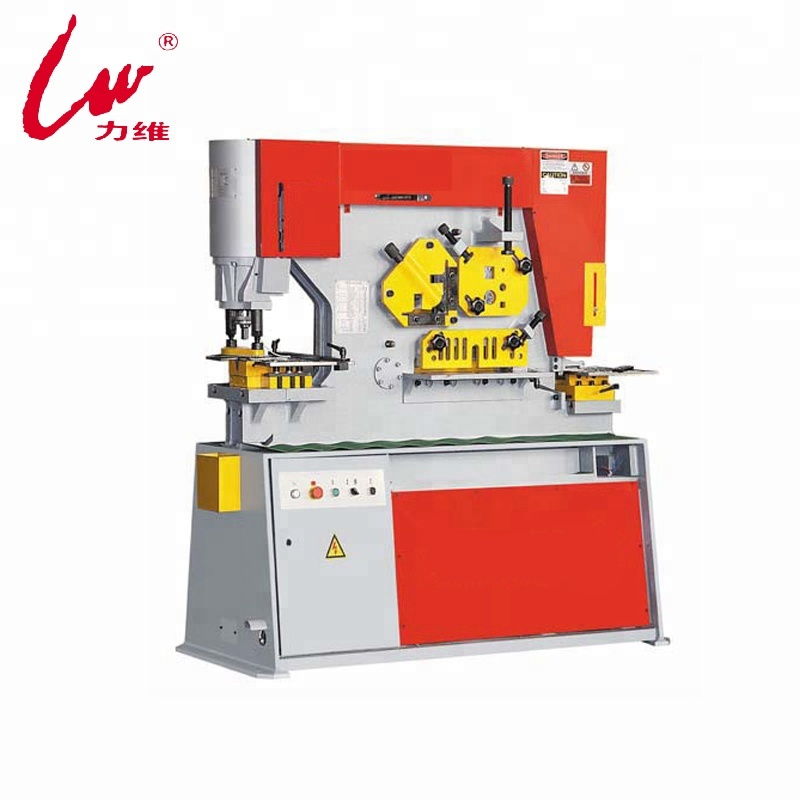 hydraulic ironworker for channel steel shearing and I steel cutting Q35Y-20