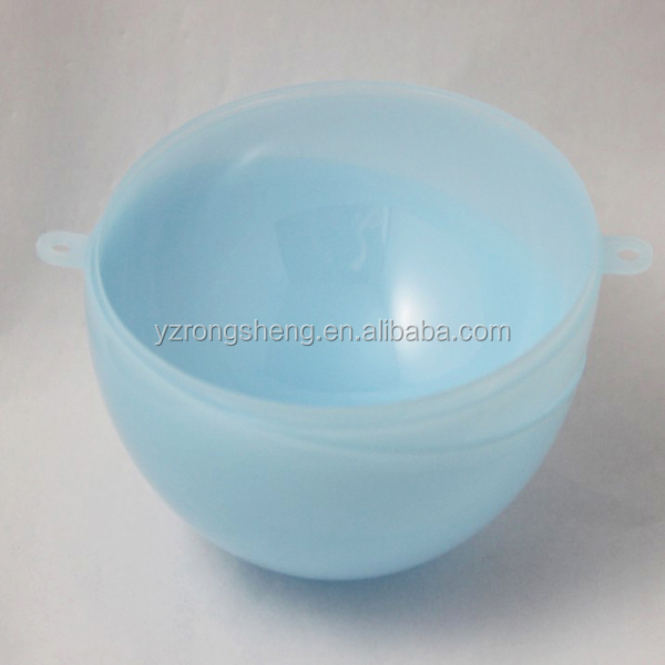 promotional christmas clear plastic ball container