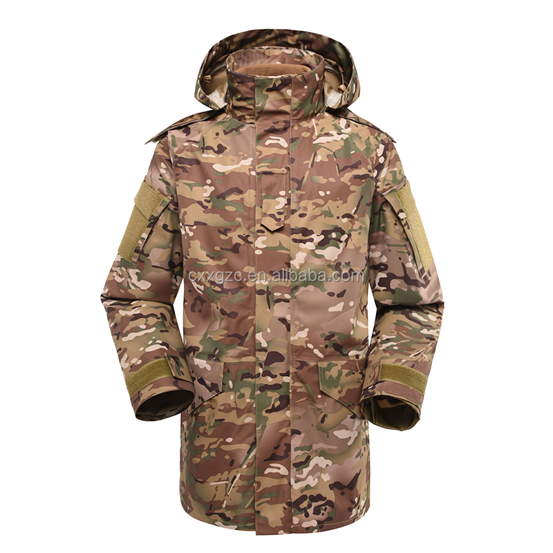 Multicam Military Army Tactical Combat Fleece Lining M65 Field Jacket