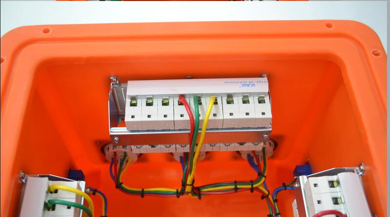 Australian IP44 portable and stackable power distribution board