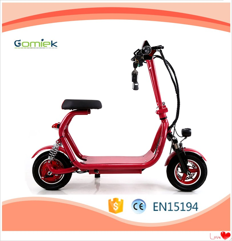 Gomiek 2017 newest citycoco 600W motor 35km/h electric scooter e-scooter