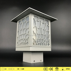CE certificate decorative lantern outdoor garden lights 7702/8702 fence post lamp pillar lamp for garden