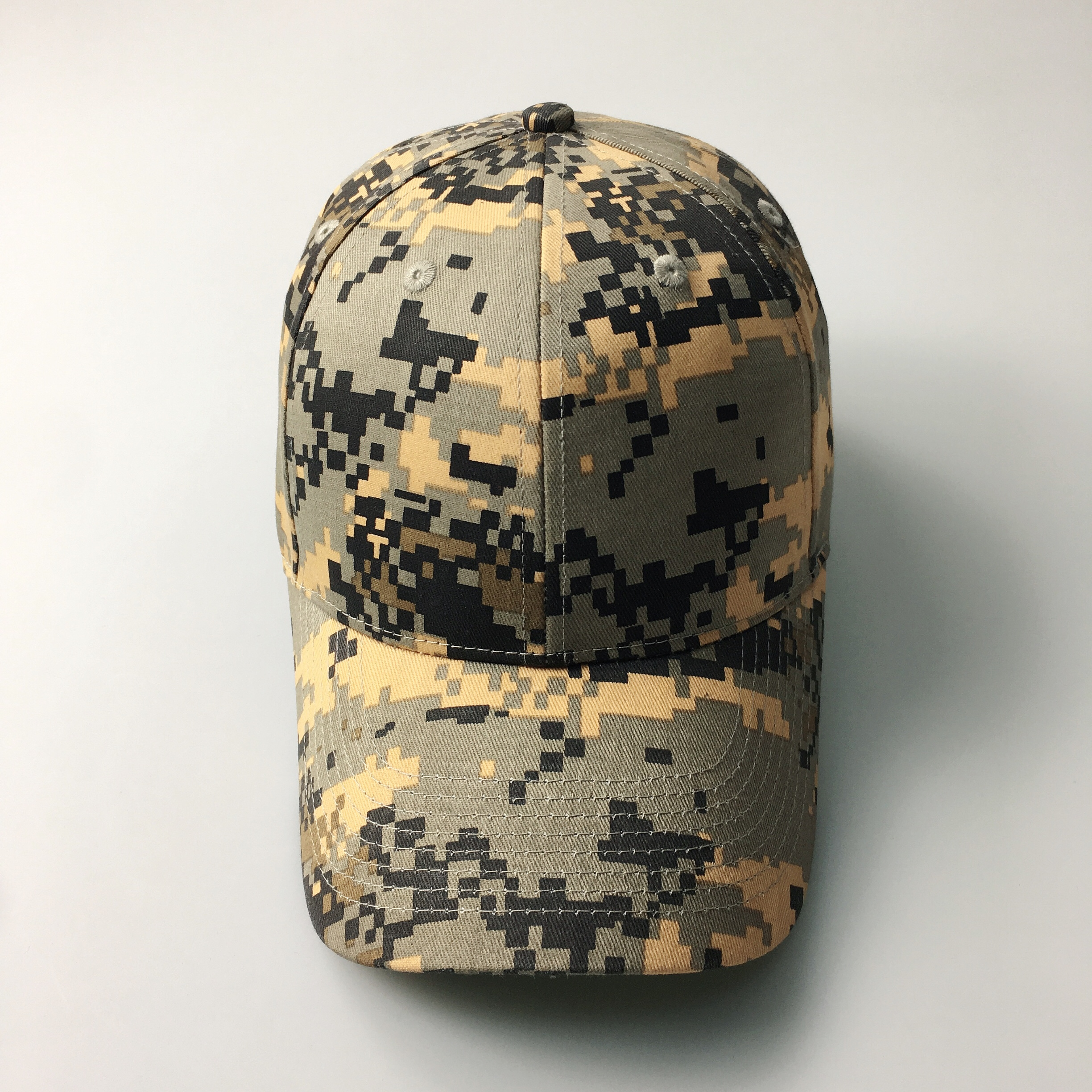 Kaihong Caps 100% cotton blank outdoor army rip stop digital baseball orange camo <strong>hat</strong>