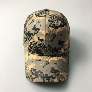 Kaihong Caps 100% cotton blank outdoor army rip stop digital baseball  orange camo hat 30cc0d82bd56