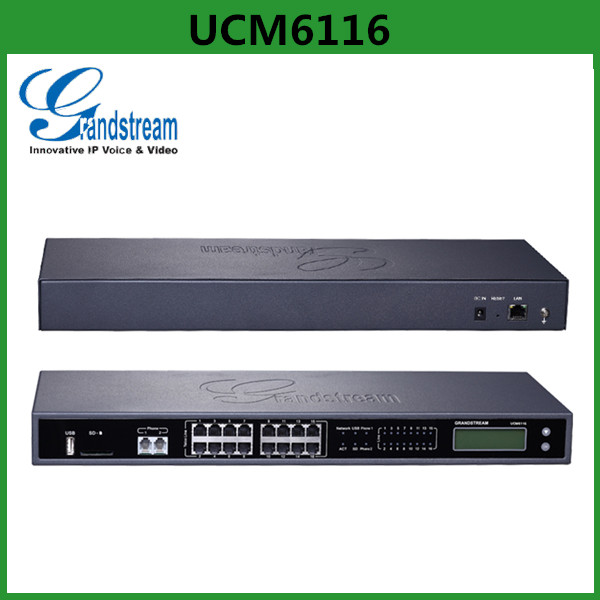 China Supplier Grandstream UCM6100 series IP PBX UCM6116