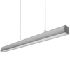 CE industrial silver 30w 4ft single acrylic ceiling pendant lights