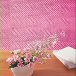 Bianco carta da parati in fibra di vetro panno decorazione for Stoffa da parati