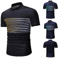2019 Top brand mens clothing fashion slim fit polo shirts for sale