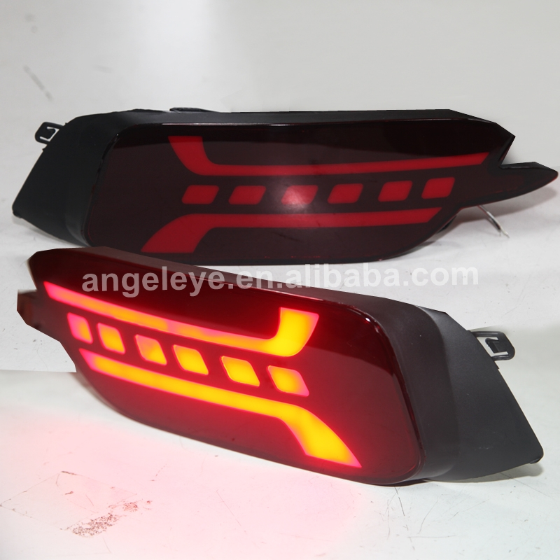 LED Bumper light for Honda for Civic 2016-2018 Dark Red