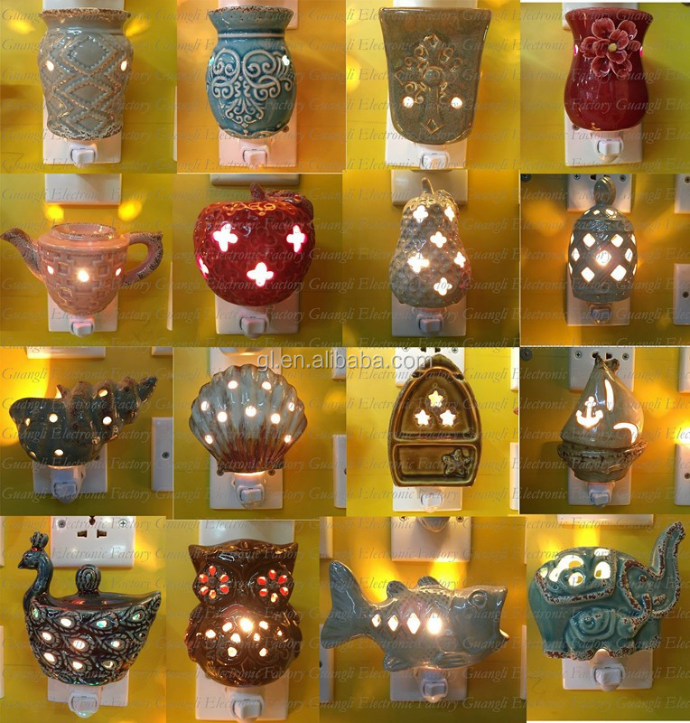 OEM ETL CE SAA BS Animal elephant ceramic decoration bulb with 110V and 220V and 5 or 7 W