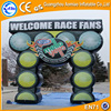 2016 New design arch welcome inflatable finish line archway for race