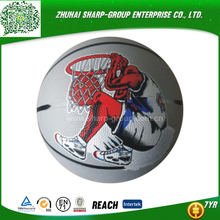 2016 hot sale Heat transfer printing weight of a basketball