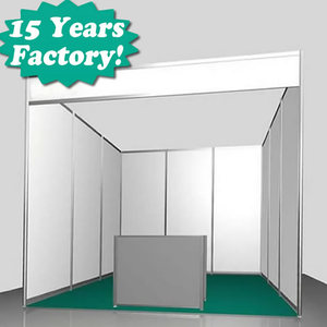 2014 New High Quality Exhibition Booth Stall Design with Factory Price