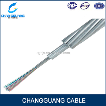 Ground Wire Opgw Cable 24 Core Fiber Optic Cable Price - Buy 24 ...