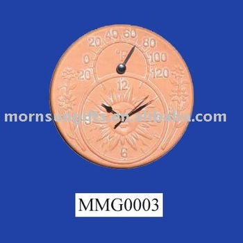 Handmade Terracotta Outdoor Clock Buy Outdoor Clock
